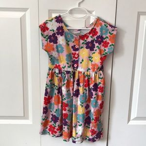 Girl's Hanna Andersson floral dress.